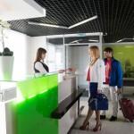 Регистрация пассажиров и оформление багажа