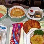 О правилах питания перед полетом